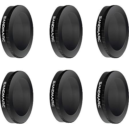 SANDMARC Pro Plus Filters for DJI Mavic 2 Zoom (6-Pack) - PL, ND4/PL, ND8/PL, ND16/PL, ND32/PL & ND64/PL Filter Set
