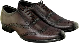 Blinder Black Brown Tan Brogues Formal Shoes for Men On Amazon.in