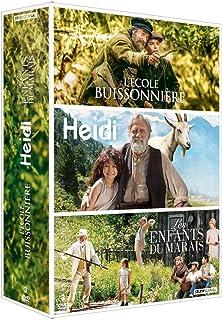 Coffret : L'École buissonnière + Heidi + Les Enfants du marais [Francia] [DVD]