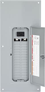Square D by Schneider Electric HOM3060M100PC Homeline 100 Amp 30-Space 60-Circuit Indoor Main Breaker Load Center with Cover (Plug-on Neutral Ready),