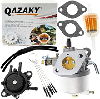 QAZAKY Carburetor Fuel Pump Replacement for EZGO 350cc Robin Engine Golf Cart Gas Club Car 4-Cycle Carb Workhorse ST350 17559 72558-G01 72558-G05 72840-G02 520-184 TXT MPT 800 1200 ST-350 ST-Sport