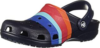 Crocs Men's and Women's Classic Graphic Clog | Comfort Slip On Casual Water Shoe | Lightweight
