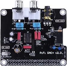 PCM5122 HiFi DAC Módulo de Tarjeta de Sonido de Audio I2S 384KHz con indicador LED para Raspberry Pi B + para Raspberry Pi 2 Modelo B (Multicolor) ESjasnyfall
