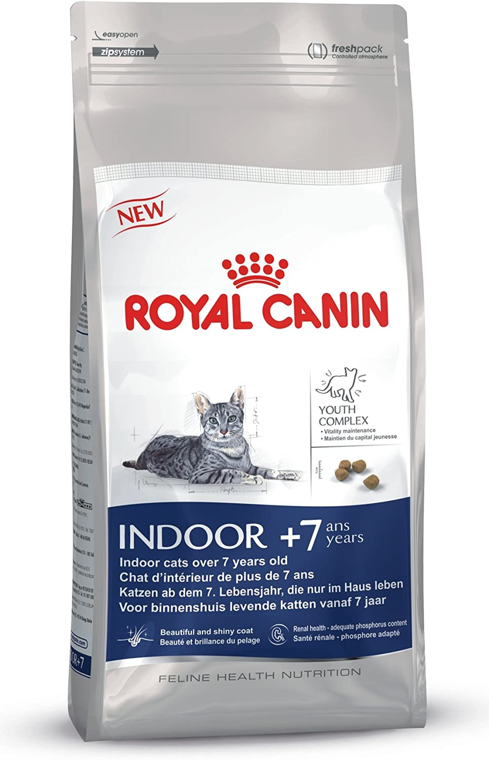Royal Canin Indoor Cat Food 400 g for Cats over 7 Years