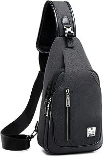 سلينغ حقيبة الصدر الكتف حقيبة الظهر حقائب كروسبودي للرجال النساء السفر في الهواء الطلق