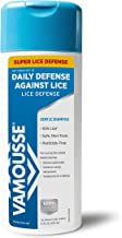 Vamousse Head Lice Daily Defense Shampoo, Kills Super lice After Exposure, Gentle, with Eucalyptus, 10 Oz