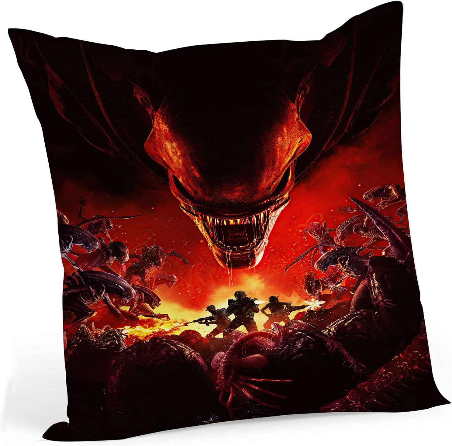 fucyBu Star Black Moon A Soldering surprise price is realized Alien Fabric Throw Pillow Cotton Inserts