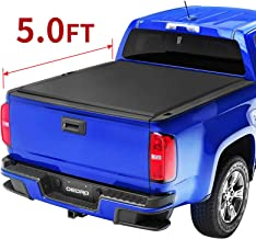 oEdRo Roll Up Truck Bed Tonneau Cover Compatible with 2015-2019 Chevy Colorado & GMC Canyon, Fleetside, 5 Feet Bed