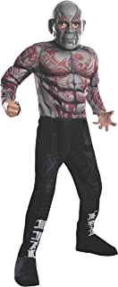 Rubies Guardians of The Galaxy Deluxe Drax The Destroyer Costume, Child Large