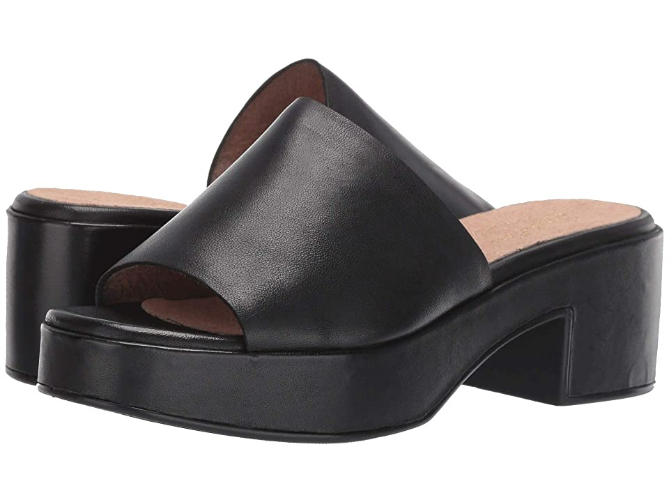 Seychelles One of a Kind (Black Leather) Women