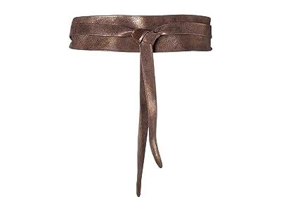 ADA Collection Obi Classic Wrap Belt (Truffle) Women