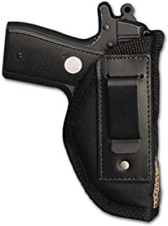 Barsony New Concealment Inside The Waistband IWB Holster for Small 380 Ultra Compact 9mm 40 45