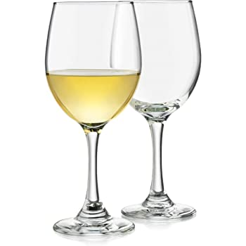 Libbey Classic White Wine Glasses, Set of 4