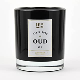 DW Home Large Double Wick Candle, Black Rose and Oud