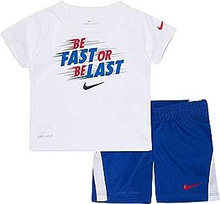 Nike Kids Baby Boy's Short Sleeve Top and Shorts Set (Toddler)