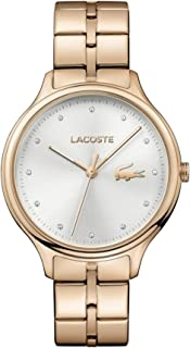 Lacoste Women's Silver Dial Stainless Steel Band Watch - 2001032