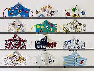 Tina Codazzo Baby Crea il set mascherine beccucci 4 pezzi per bambini fantasie Disney