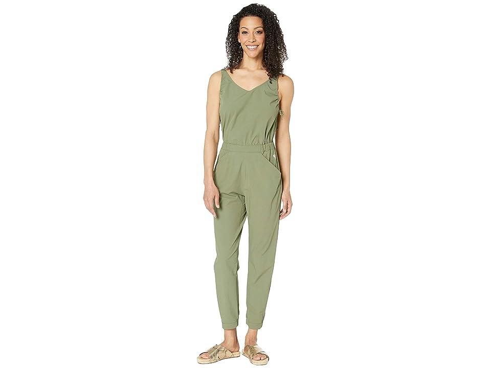 Mountain Hardwear Railaytm Romper Pants (Light Army) Women
