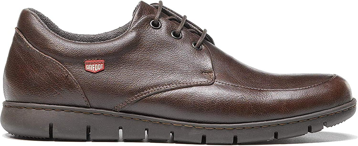On Foot bluecher Bordon Mens Leather Lace Up shoes