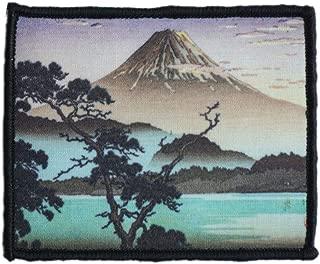 Morale Patch Hook and Loop Koitsu Tsuchiya Ukiyo-e Japan Fujiyama A549