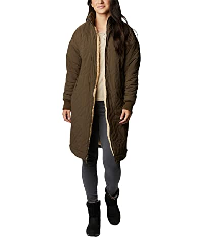 Columbia Kinzu Point Reversible Jacket (Olive Green/Ceramic Sherpa) Women