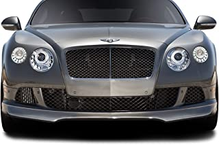 Aero Function Replacement for 2012-2015 Bentley Continental GT Coupe AF-1 Front Spoiler - 1 Piece (GFK)