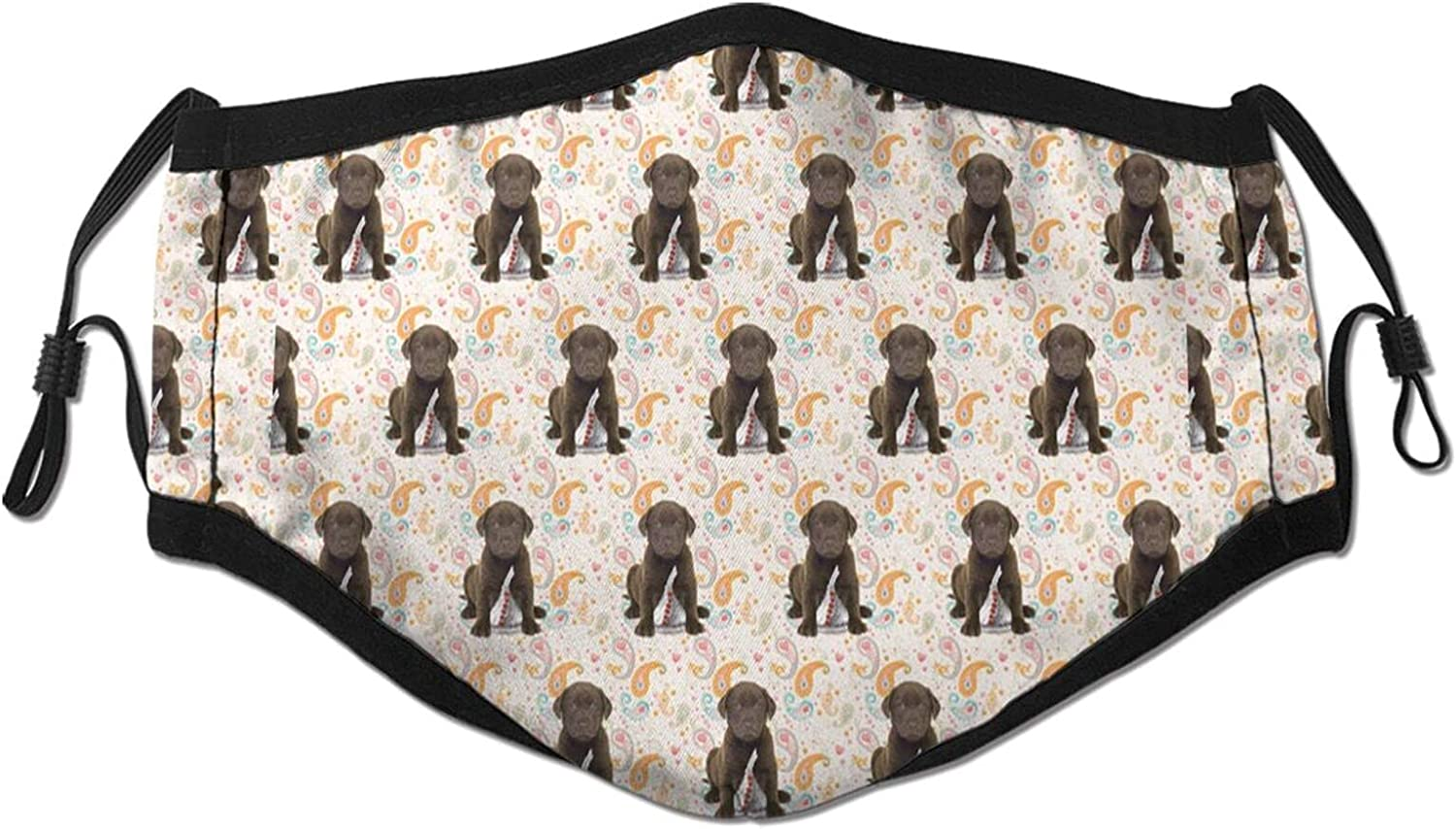 Chocolate Lab Dog Adult Fashion Breathable New Max 51% OFF popularity Cover Adjustable Face