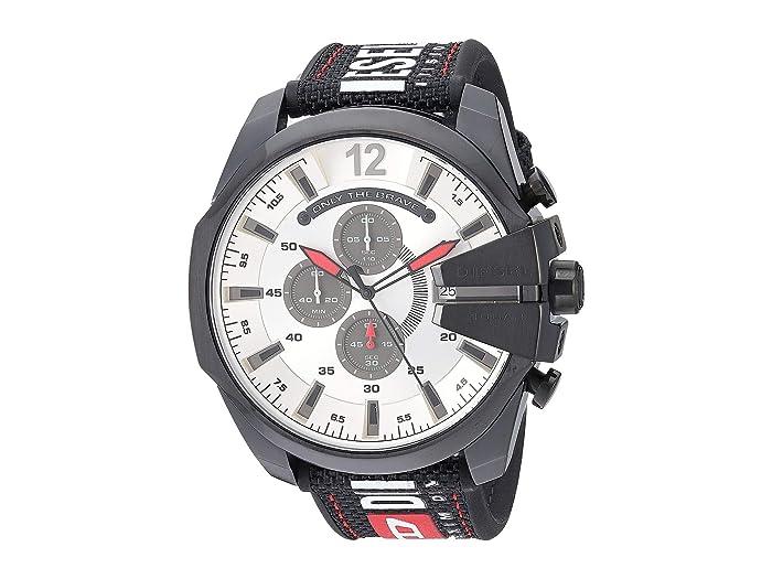 Diesel  Mega Chief - DZ4512 (Black) Watches