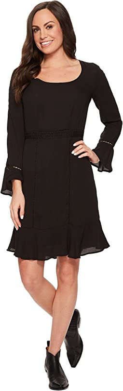 Stetson - 1494 Poly Crepe Long Sleeve Dress