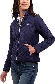 U.S. Polo Assn. Women's Quilted Moto Windbreaker Jacket