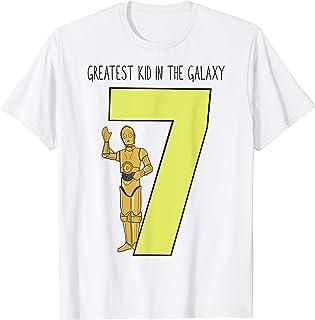 Star Wars C-3PO Greatest Seventh Birthday T-Shirt