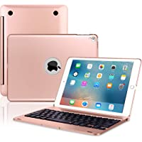 ONHI Wireless Bluetooth Keyboard Case for iPad