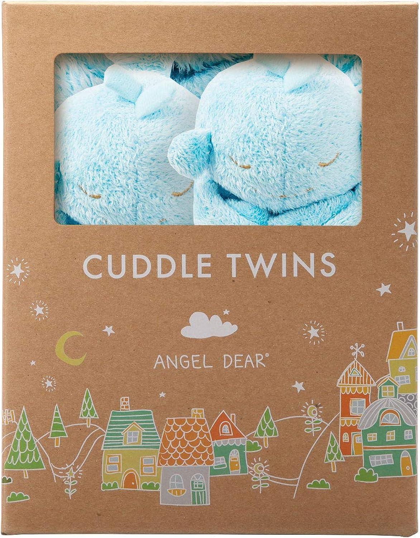 Angel Dear Cuddle Twins Blankie, bluee Whale