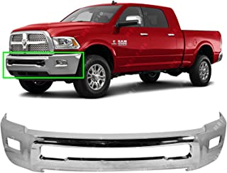 MBI AUTO - Chrome, Steel Front Bumper Face Bar Fascia for 2010-2018 RAM 2500 3500 Pickup 10-16, CH1002390