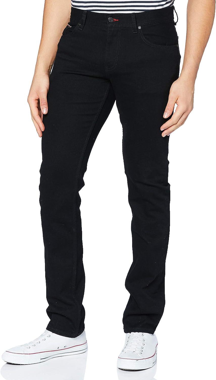 Tommy Hilfiger Slim Bleecker Wstr Kincaid Black Pantalones para Hombre