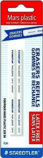 Staedtler Mars Plastic Eraser Refills for Refillable Holder, 2-Each (52855BK2)