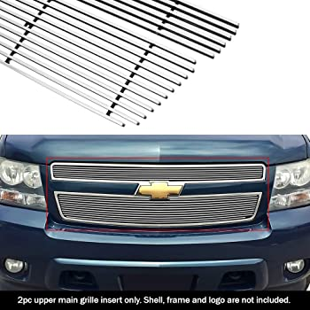 APS Compatible with 2007-2014 Chevy Tahoe Suburban Avalanche Billet Grille Grill Insert N19-A15466C