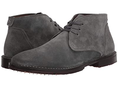 John Varvatos Portland Chukka (Steel Grey) Men
