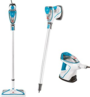BISSELL PowerFresh Slim Steam Cleaner System, 2233F Steam Mop Disco Teal