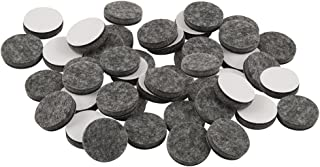 softtouch 4749095N 1 Inch, Gray, 48 Pack Heavy Duty Felt Furniture Pads-Protect Hardwood and Linoleum Floors frim Scratches, 48 Piece