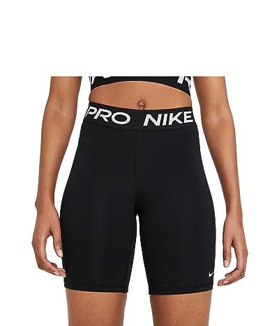 Nike Pro 8 Short (Black/White) Women
