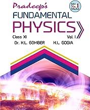 Pradeep'S Fundamental Physics For Class 11 (Set Of 2, 2020 Examination)
