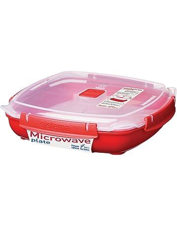 #N//A Fornello a microonde Contenitore per alimenti Forno a microonde a doppio strato drenabile a vapore Vaporiera drenabile in materiale PP