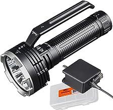 Fenix LR80R 18,000 Lumen Super Bright Rechargeable Search Flashlight with LumenTac Organizer