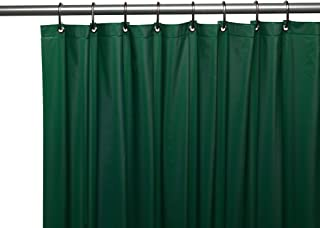 Hotel Collection Heavy Duty Anti Bacterial Mold Mildew Resistant Non Toxic Premium PEVA Shower Curtain
