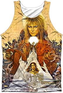 Right Words Adult Tank Top Labyrinth