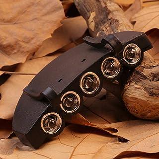 キャンプハイキングやアウトドア釣り闇の場所で5 LEDキャップハットつばクリップランプヘッドライトヘッドライトヘッドランプワーキング