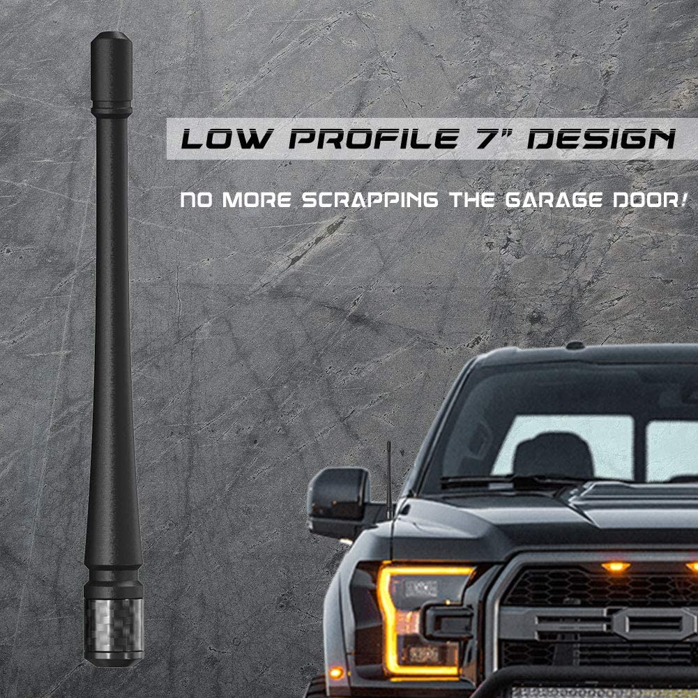 Rydonair Antenna Compatible with Ford F150 2009-2021   7 inches Rubber Antenna Replacement   Designed for Optimized FM/AM Reception