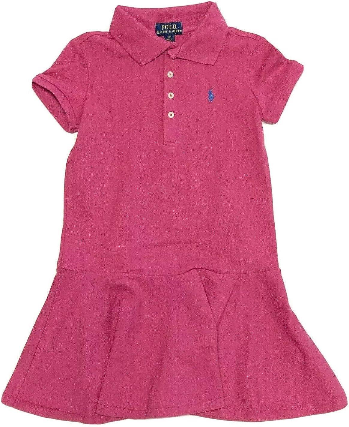 Ralph Lauren 5% OFF Polo Girls Dress Kids Short Sleeve Ranking TOP13 Size 4T 4