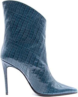 ALDO CASTAGNA Luxury Fashion Womens ELISE142BLUE Blue Ankle Boots | Fall Winter 19
